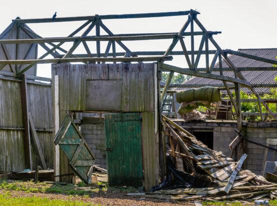 barn demolition south shore